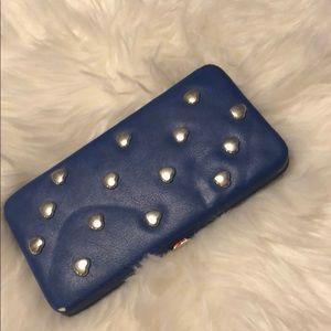 Handbags - Blue wallet